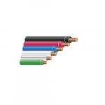 250-ft Copper Conductor Cable Coil, 179 lb Max Capacity, Black, White, Red, Blue, Green