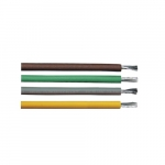250-ft Copper Conductor Cable Coil, 150 lb Max Capacity, Brown, Yellow, Gray, Green