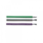 250-ft Armored Conductor Cable Coil, 122 lb Max Capacity, Purple, Gray, Green