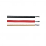 250-ft Copper Conductor Cable Coil, 150 lb Max Capacity, Black, White, Red