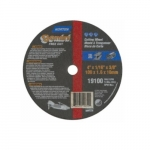 4-in Gemini Right Angle Cutting Wheel, 60 Grit, Aluminum Oxide