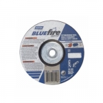 6-in BlueFire Depressed Center Combo Wheel, 24 Grit, AO & Zirconia Alumina, Resin Bond