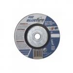 4.5-in BlueFire Depressed Center Cutting Wheel, 36 Grit, AO & ZA, Resin Bond