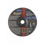 7-in Gemini Depressed Center Cutting Wheel, 24 Grit, Aluminum Oxide, Resin Bond