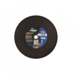14-in Gemini Chop Saw Cutting Wheel, 36 Grit, Aluminum Oxide