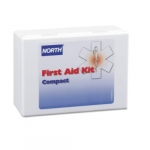 Compact First Aid Kit w/ Plastic Case, 26-Piece