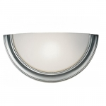 13W Wall Sconce Lighting Fixture, Brushed Nickel Finish
