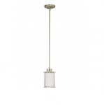 13W Odeon Mini Pendant, 1-Light, GU24 Base, Brushed Nickel