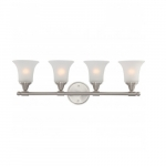 Surrey Vanity Light, Frosted Glass