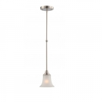Surrey Mini Pendant Light, Frosted Glass