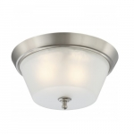 Surrey Flush Dome Light, Frosted Glass