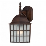 """14"""" Adams Outdoor Wall Light, Frosted Glass"""