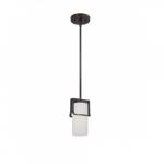 100W Mini Pendant Light, 1-light, Russet Bronze
