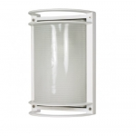 10in Bulk Head Light, Rectangle, White