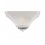 Teller Wall Sconce Light, 1-light, Polished Chrome