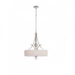 Connie Pendant Light, Satin White Glass