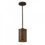 60W, Kettle Mini Pendant Light, Vintage Lamp, Weathered Brass Finish
