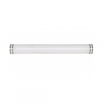 "49"" Glamour Wall Mounted Vanity Light Fixture, Fluorescent"