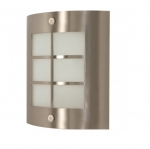 9in Wall Light Fixture w/ GU24 Bulb, Brushed Nickel