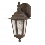 "Cornerstone, 18"" Wall Lantern Light, Arm Down, Old Bronze Finish"