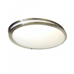 "32"" Glamour Oval Flush Mount Light"
