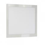 18W 1 x 1' LED Surface Mount Fixture, Black