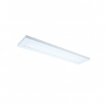 """22W 5"""" x 2' LED Surface Mount Fixture, White"""