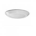 10.5W LED Flush Mount Light Fixture, Disk Light, Mahogany Bronze