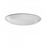 12W LED Flush Mount Light Fixture, Disk Light, White