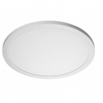 "30W, 19"" Blink Plus Flush Mount LED Light Fixture, White Finish"