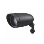 6W LED Outdoor Landscape Flood Light Fixture, Dark Gray
