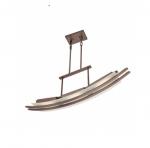 10W Trax Island Pendant, 3 Module, Hazel Bronze, 3000K
