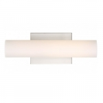 13W, Bend LED Small Vanity Light, Brushed Nickel Finish