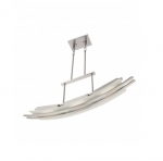 10W Trax Island Pendant, 3 Module, Brushed Nickel, 3000K