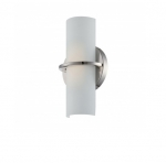 10W Tucker LED Wall Sconce, Polished Nickel, 3000K