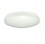 11in LED Flush Mount Light Fixture, White