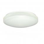 14in LED Flush Mount Light Fixture, White