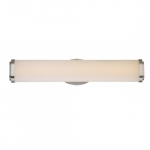 26W Pace Double LED Wall Sconce Light, Brushed Nickel, LED Light