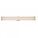 "117W Pace 36"" ED Wall Sconce Light, Brushed Nickel, LED Light"