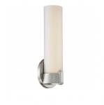 13W Loop LED Wall Sconce, Single, Brushed Nickel