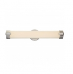 26W Loop LED Wall Sconce, Double, Brushed Nickel