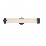 13W Loop LED Wall Sconce, Double, Brushed Nickel