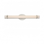 26W Slice LED Wall Sconce, Double, Polished Nickel