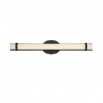 13W Slice LED Wall Sconce, Double, Polished Nickel