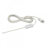 Thread 10' Plug-In Portable Power Cord with On/Off Line Cord Switch