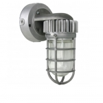 13W LED Wall Mount Light, Vapor Proof, Silver, 5000K