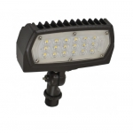 12W LED Flood Light, 1474 Lumens, Bronze, 5000K