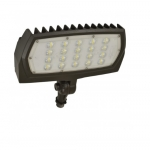 12W LED Flood Light, Adjustable Neck, 1463 Lumens, Bronze, 5000K