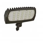 48W LED Flood Light, Adjustable Neck, 5562 Lumens, Bronze, 5000K
