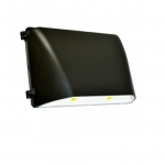 49W LED Wall Pack, Large, Bronze, 2700 lm, 5000K